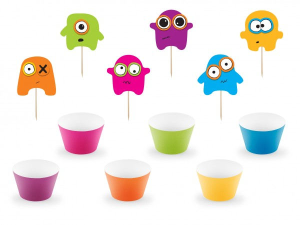 Cup Cake Kit - Muffin Set Monster